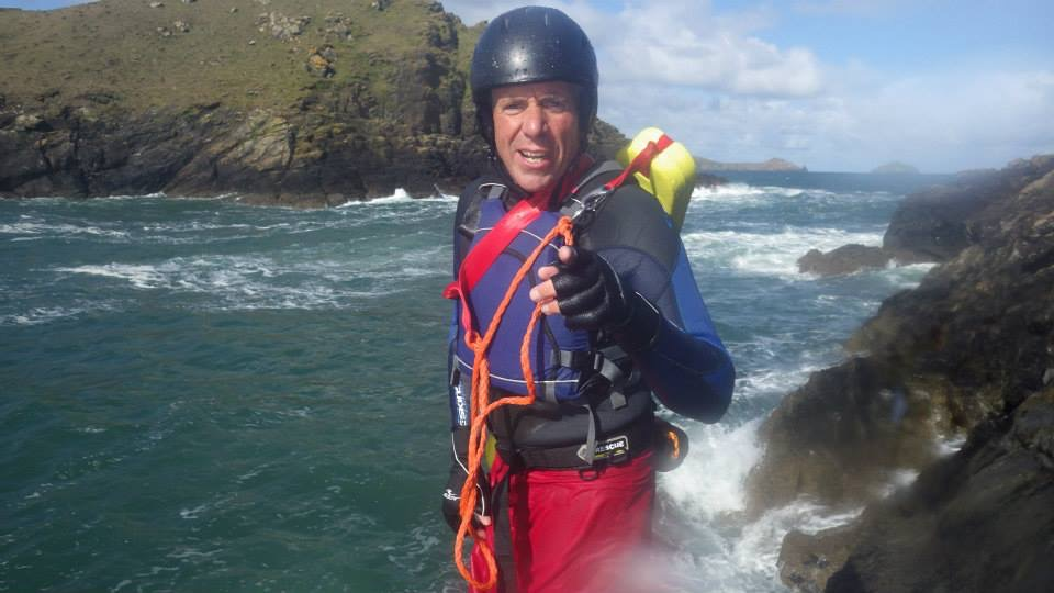 coasteer north cornwall